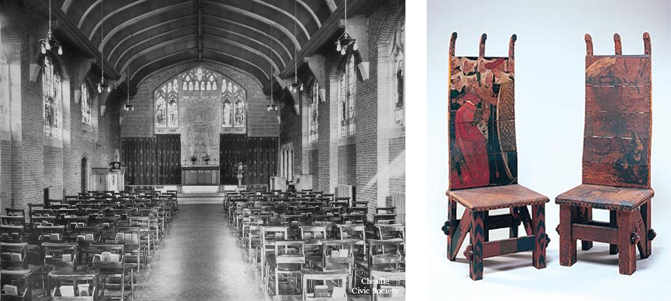 Cheadle Royal Hospital Chapel and WM Chairs